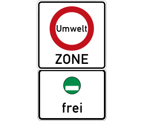 Umweltzone grüne plakette