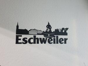 Aufkleber-Eschweiler Wand tattoo
