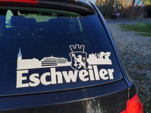 Aufkleber Eschweiler PKW