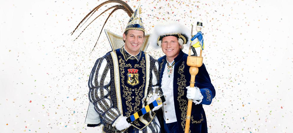 Prinzenpaar Eschweiler, Prinz Simon 1. & Zeremonienmeister David